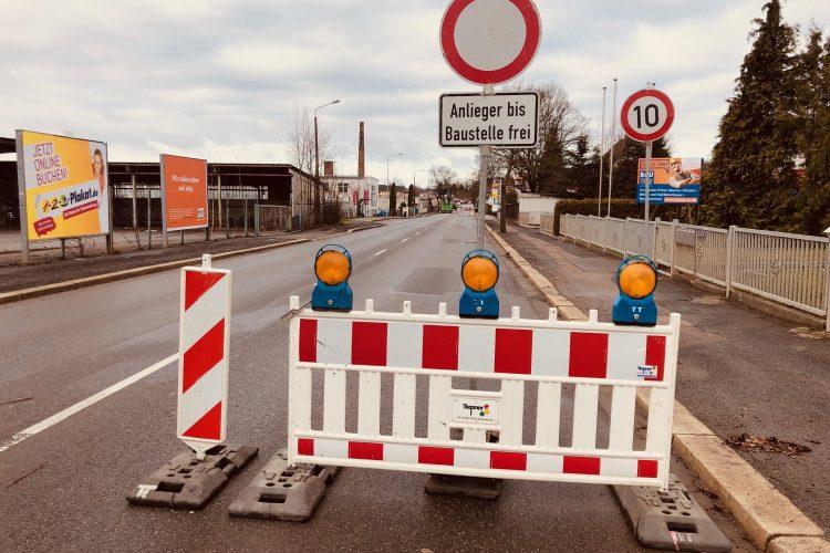 Erreichbarkeit trotz Straßenbau